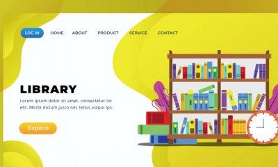 LIBRARY GRAPHIC TEMPLATE